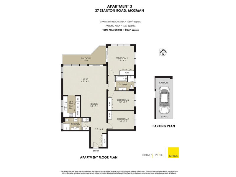 3/37 Stanton Road, Mosman, NSW 2088 - floorplan