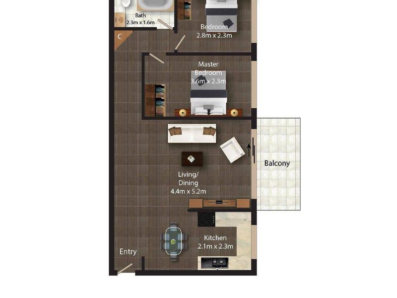 10/56 Trinculo Place, Queanbeyan, NSW 2620 - floorplan