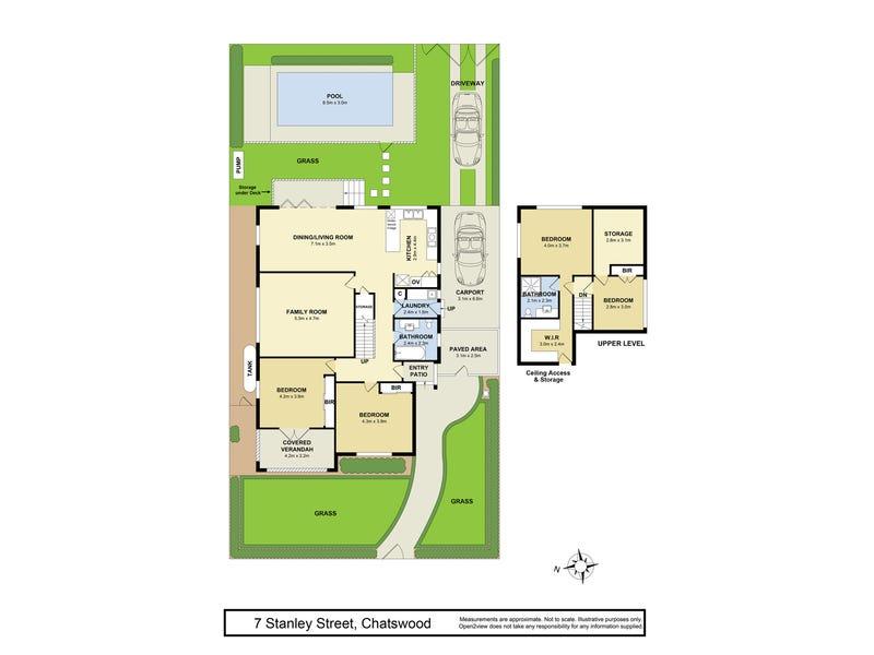7 Stanley Street, Chatswood, NSW 2067 - floorplan