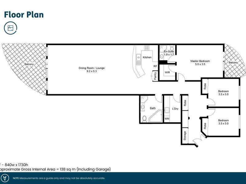 39/87 Hannell Street, Wickham, NSW 2293 - floorplan