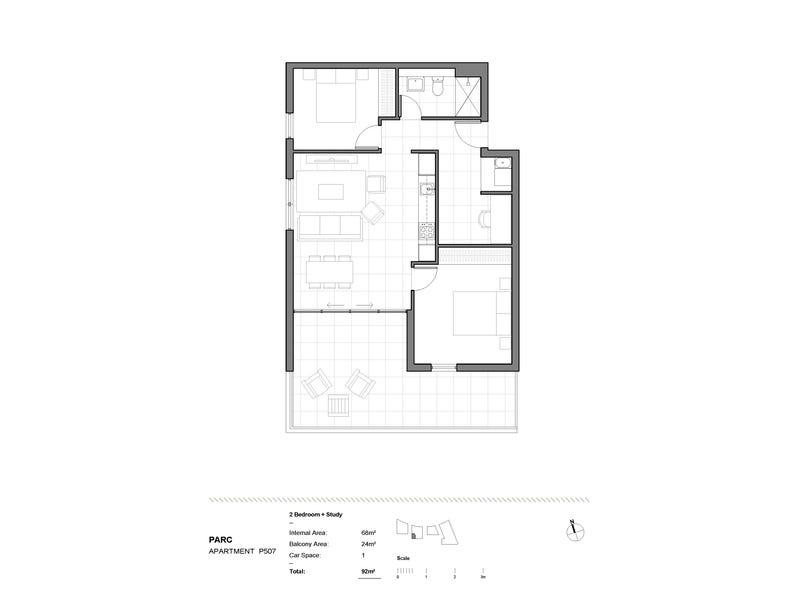 Level 5/2F Wentworth Park Road, Glebe, NSW 2037 - floorplan