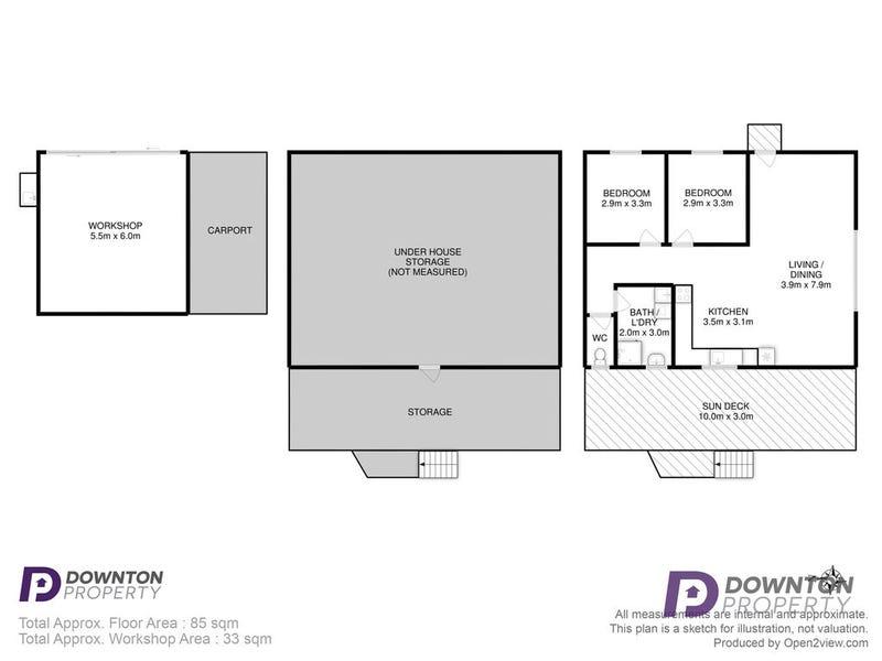 45 Harvey Road, Alonnah, Tas 7150 - floorplan
