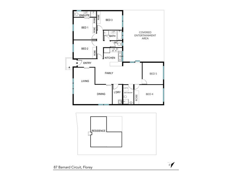 87 Barnard Circuit, Florey, ACT 2615 - floorplan