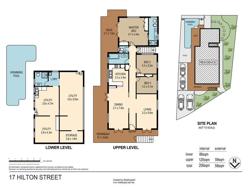 17 Hilton Street, East Brisbane, Qld 4169 - floorplan