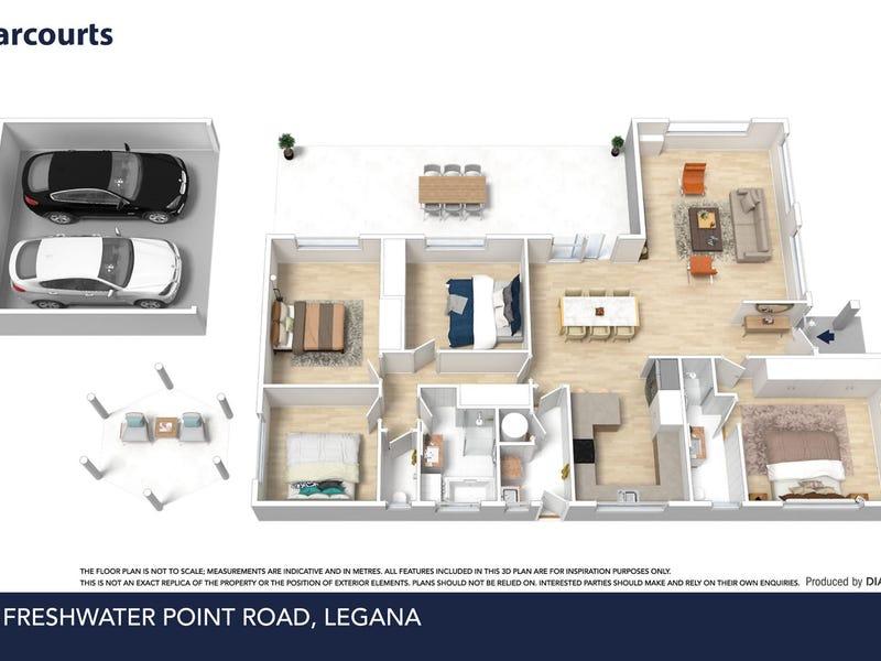 23 Freshwater Point Road, Legana, Tas 7277 - floorplan