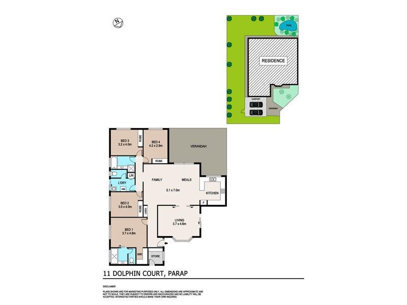 11 Dolphin Court, Parap, NT 0820 - floorplan