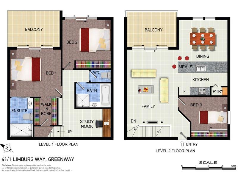 41/1 Limburg Way, Greenway, ACT 2900 - floorplan