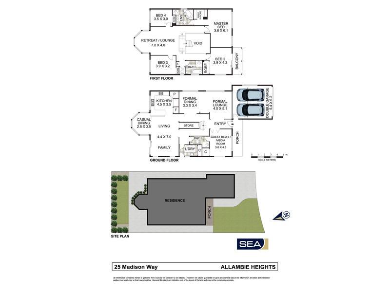 25 Madison Way, Allambie Heights, NSW 2100 - floorplan