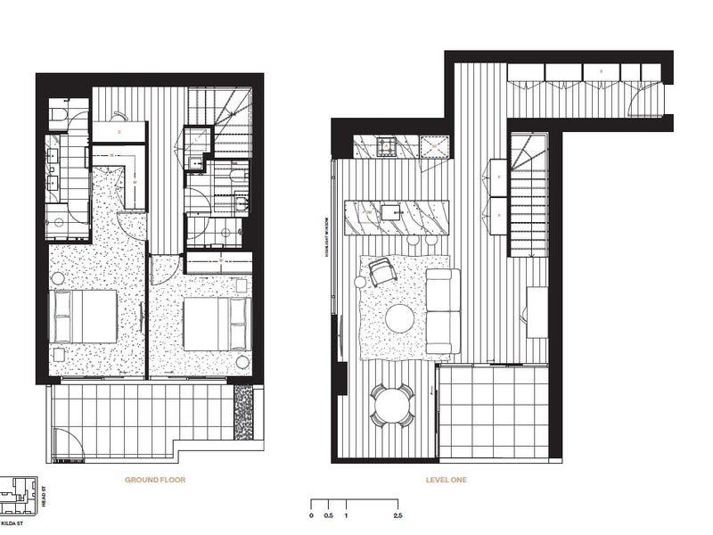 107/448  St Kilda Street, Elwood, Vic 3184 - floorplan
