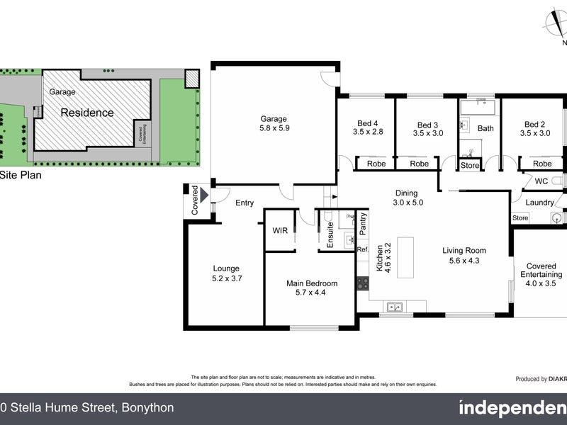 10 Stella Hume Street, Bonython, ACT 2905 - floorplan