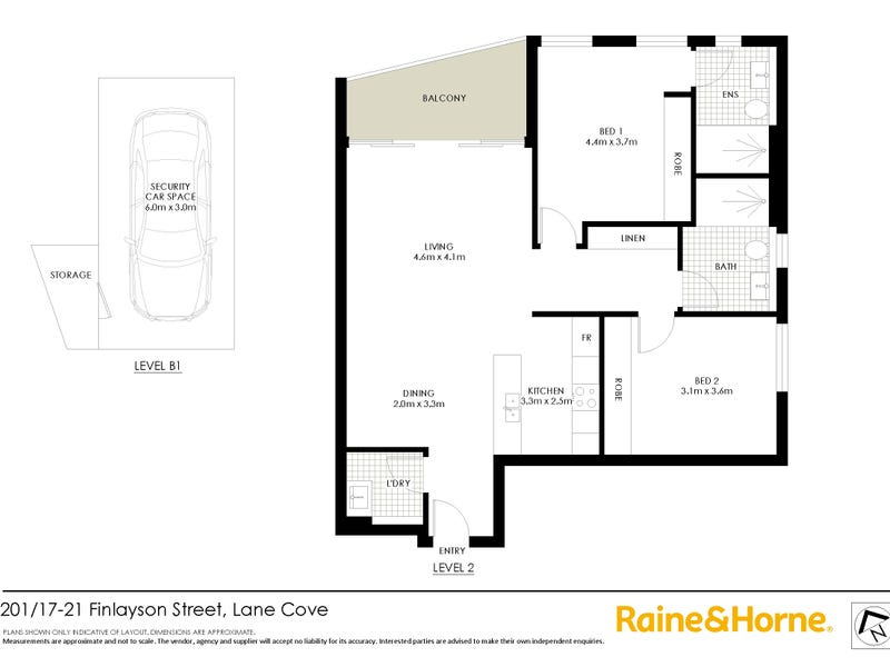 201/17 Finlayson Street, Lane Cove, NSW 2066 - floorplan