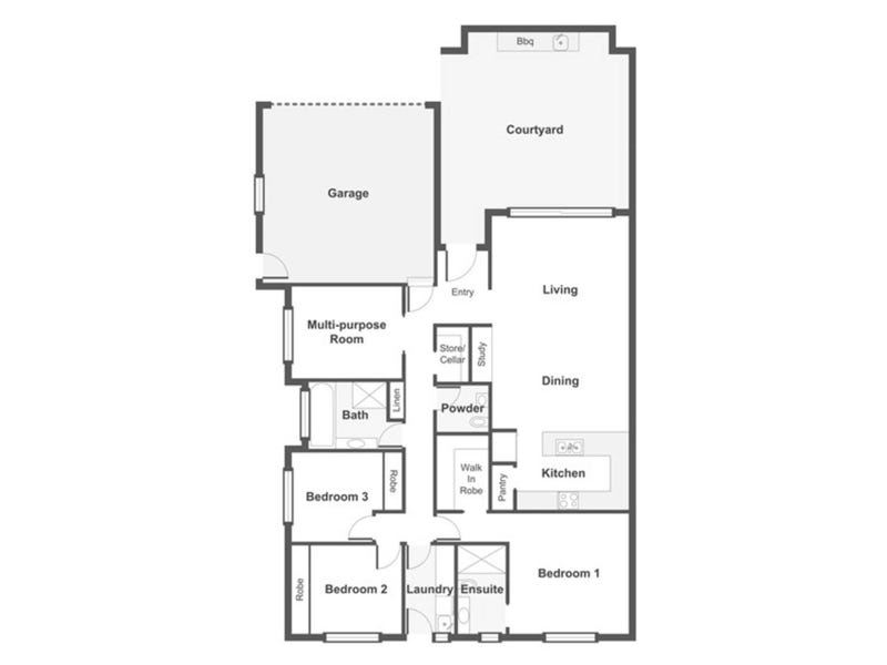 40 Coxen Street, Hughes, ACT 2605 - floorplan