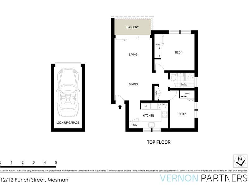 12/12 Punch Street, Mosman, NSW 2088 - floorplan