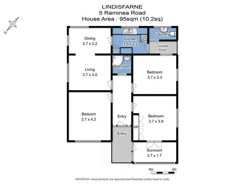 Lot 2/5 Raminea Road, Lindisfarne, Tas 7015 - floorplan