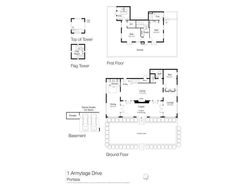 1 Armytage Drive, Portsea, Vic 3944 - floorplan