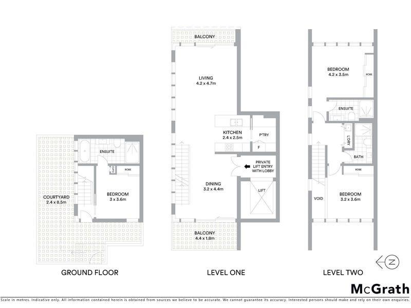 1/2 David Street, Turner, ACT 2612 - floorplan