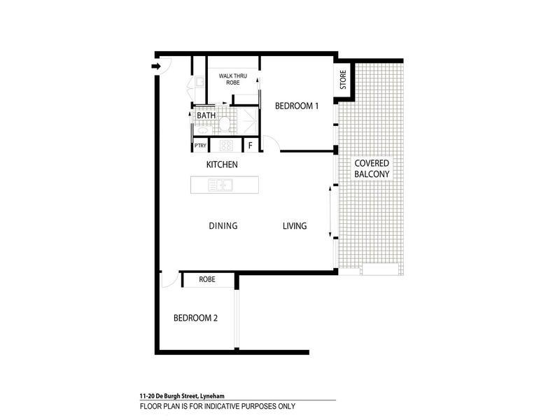11/20 De Burgh Street, Lyneham, ACT 2602 - floorplan