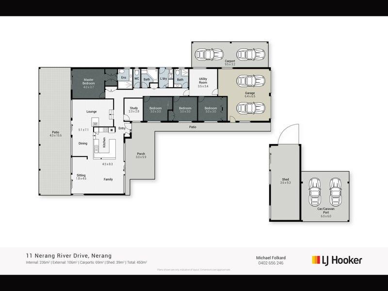 11 Nerang River Drive, Nerang, Qld 4211 - floorplan