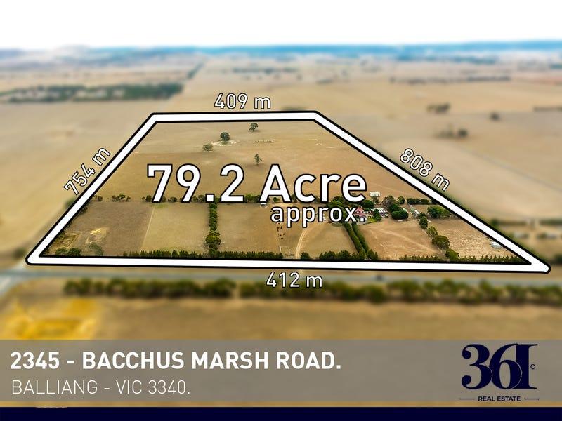 2345 Bacchus Marsh Road, Balliang East, Vic 3340