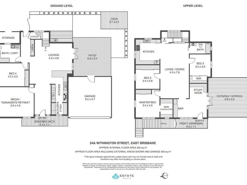 24a Withington Street, East Brisbane, Qld 4169 - floorplan