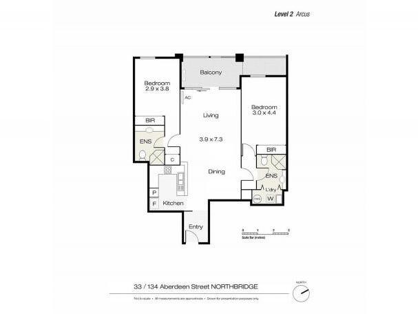 33/134 Aberdeen St, Northbridge, WA 6003 - floorplan