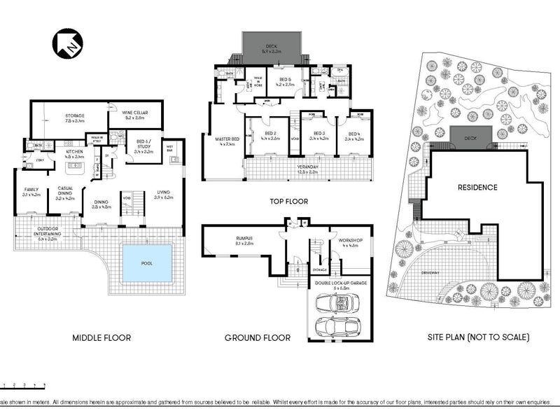 11 Reid Drive, Chatswood, NSW 2067 - floorplan