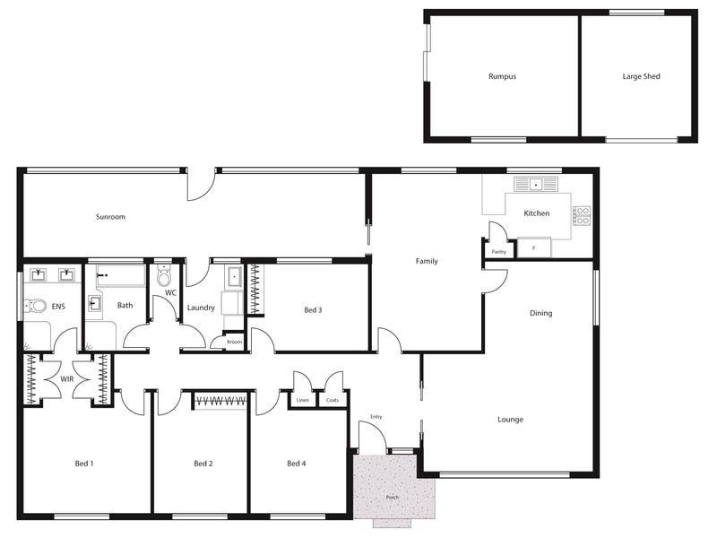 47 McBryde Crescent, Wanniassa, ACT 2903 - floorplan