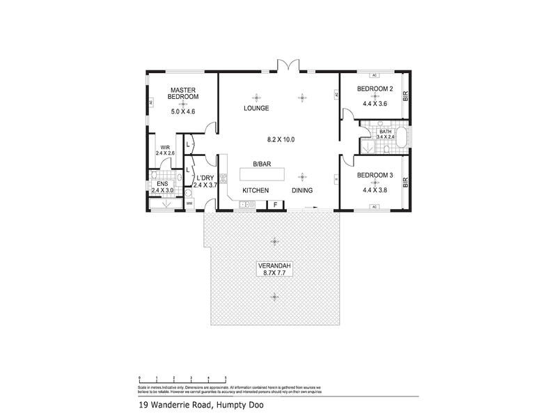 19 Wanderrie Road, Humpty Doo, NT 0836 - floorplan