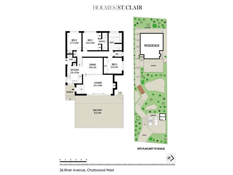 36 River Avenue, Chatswood, NSW 2067 - floorplan