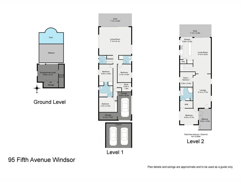 95 Fifth Avenue, Windsor, Qld 4030 - floorplan