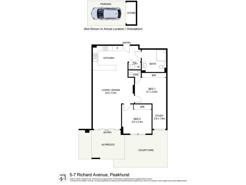 3/5-7 Richards Ave, Peakhurst, NSW 2210 - floorplan