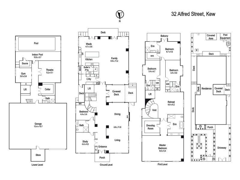 32 Alfred Street, Kew, Vic 3101 - floorplan