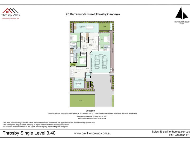 75 Barramundi Street, Throsby, ACT 2914 - floorplan