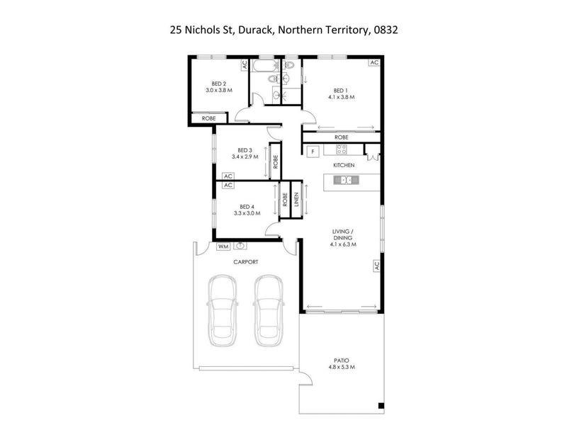 25 Nichols Street, Durack, NT 0830 - floorplan