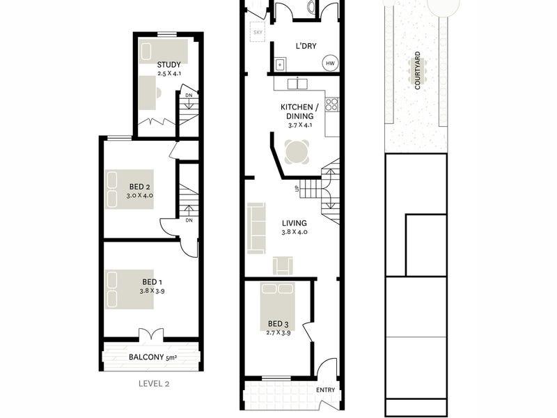 64 Marlborough Street, Surry Hills, NSW 2010 - floorplan