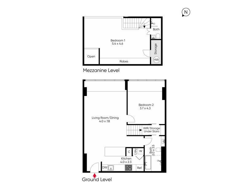 205/118 Russell Street, Melbourne, Vic 3000 - floorplan