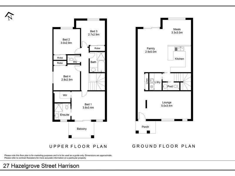 27 Hazelgrove Street, Harrison, ACT 2914 - floorplan