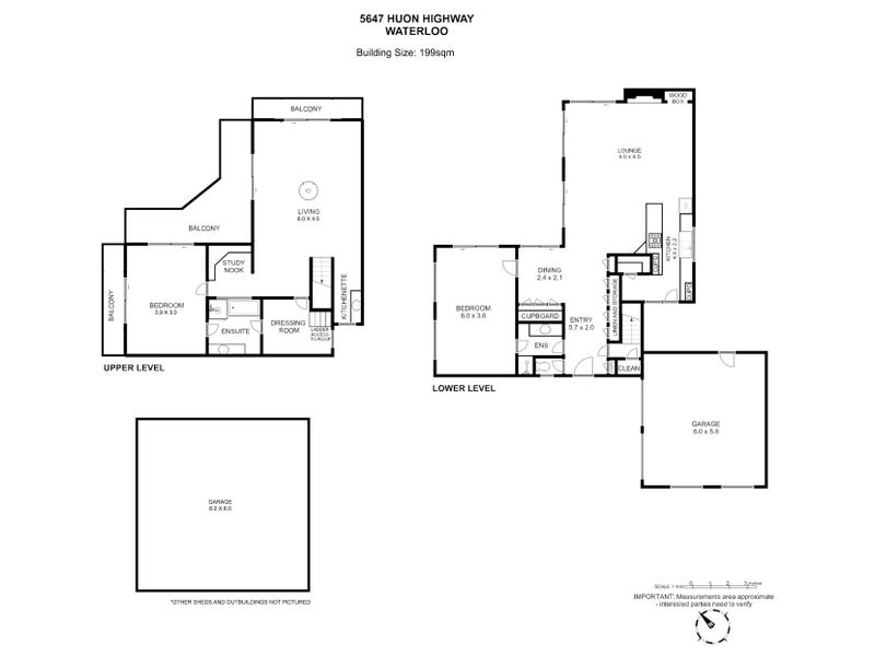 5647 Huon Highway, Waterloo, Tas 7109 - floorplan