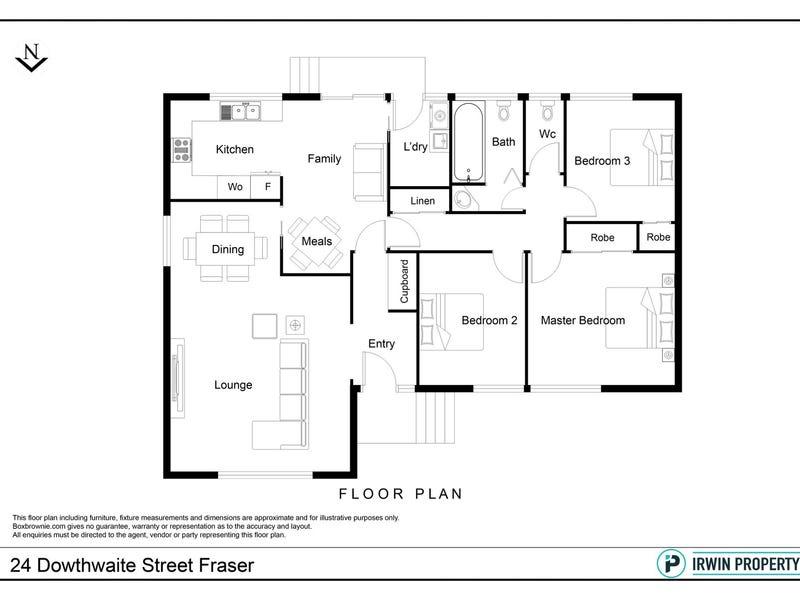24 Dowthwaite Street, Fraser, ACT 2615 - floorplan
