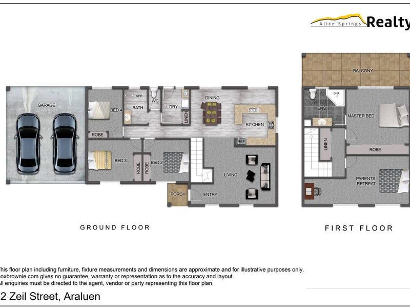 12 Zeil Street, Araluen, NT 0870 - floorplan