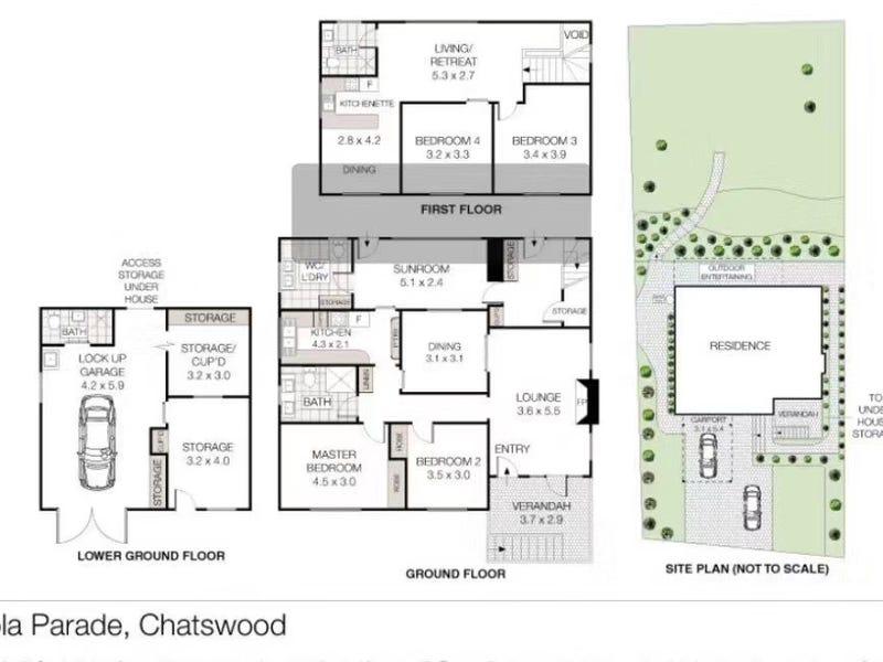 37 Moola Parade, Chatswood, NSW 2067 - floorplan