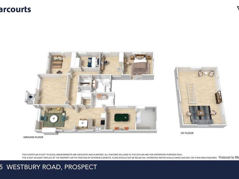 185 Westbury Road, Prospect, Tas 7250 - floorplan