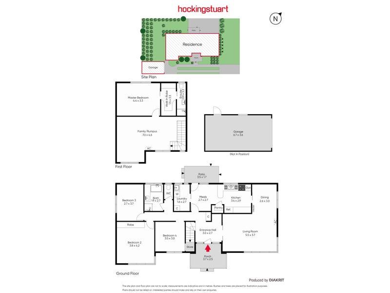 4 Verbena Crescent, Noble Park, Vic 3174 - floorplan