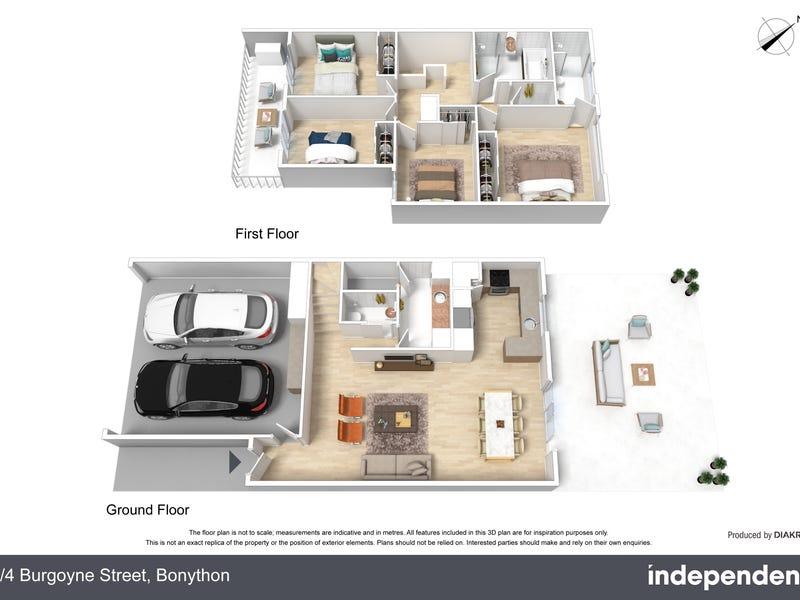 6/4 Burgoyne Street, Bonython, ACT 2905 - floorplan