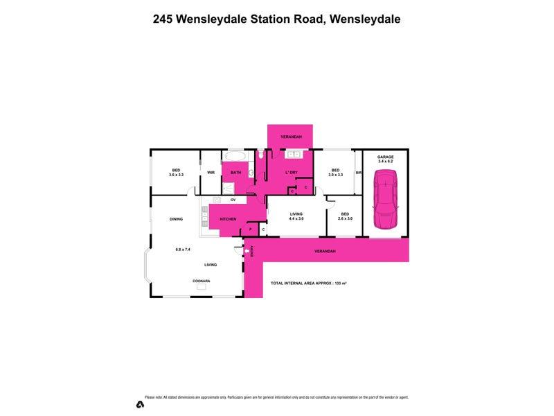 245 Wensleydale Station Road, Wensleydale, Vic 3241 - floorplan