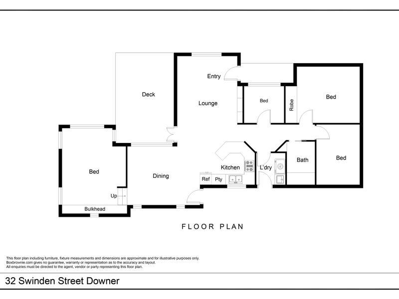 32 Swinden Street, Downer, ACT 2602 - floorplan