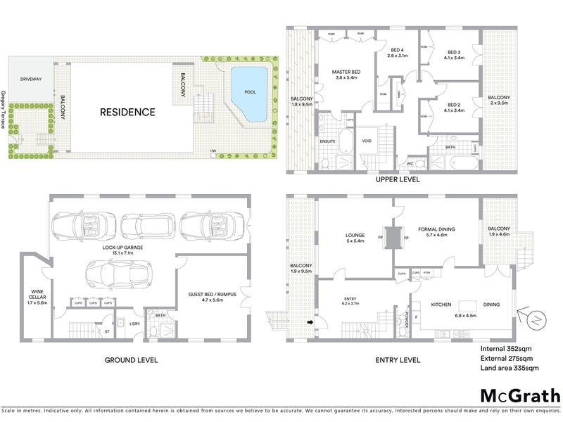 227 Gregory Terrace, Spring Hill, Qld 4000 - floorplan