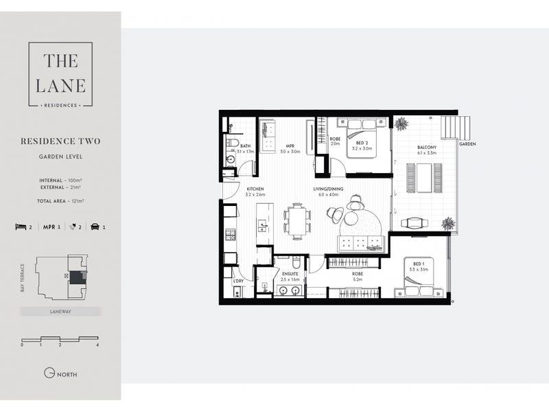 2/10 Bay Terrace, Wynnum, Qld 4178 - floorplan