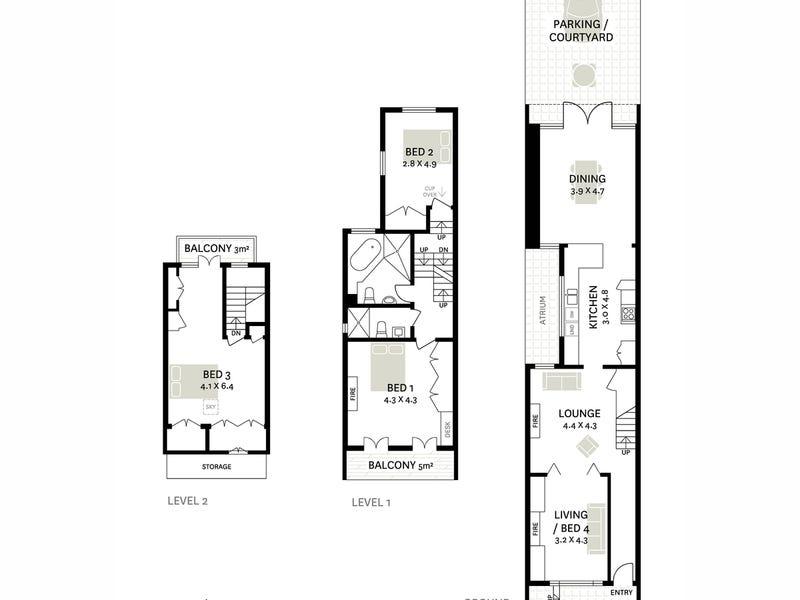 126 Commonwealth Street, Surry Hills, NSW 2010 - floorplan