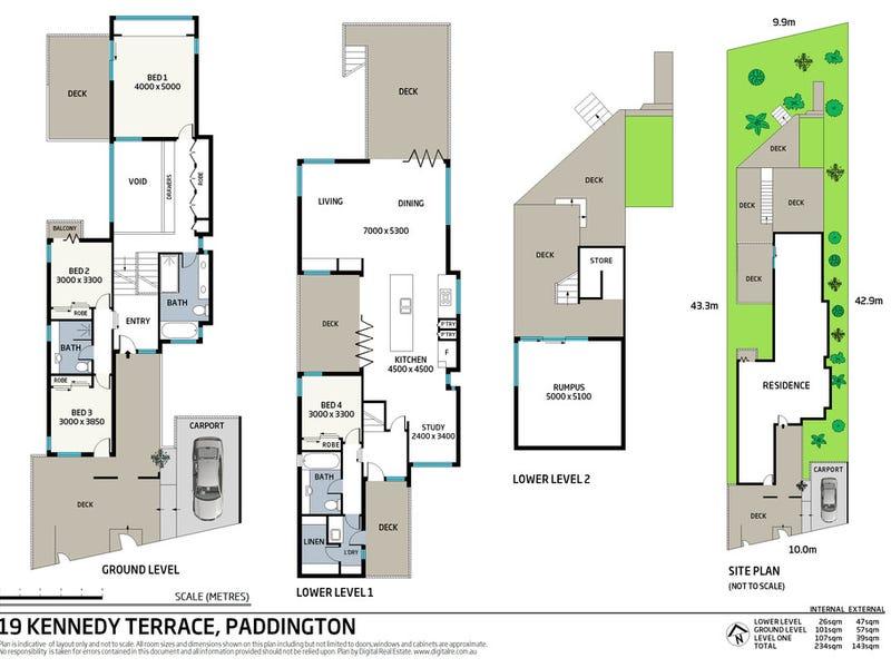 19 Kennedy Terrace, Paddington, Qld 4064 - floorplan